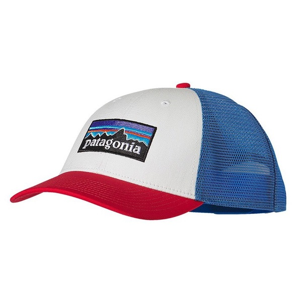 ee2b73d01 NWT Patagonia Red White and Blue Trucker hat NWT